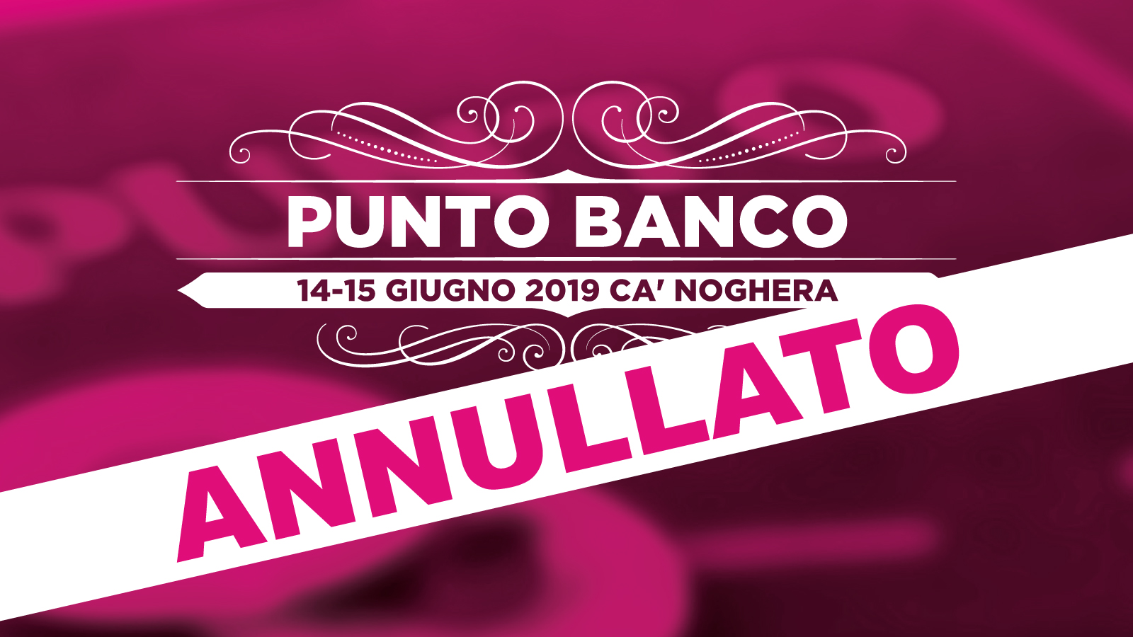 PUNTO BANCO ANNULLATO